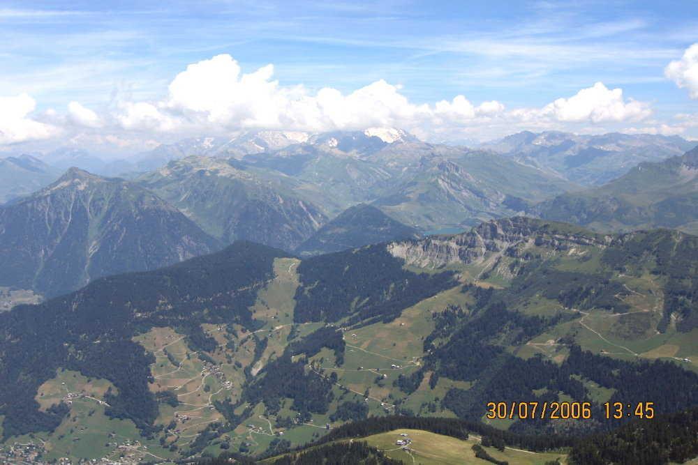 Roche Parstire Mt Blanc