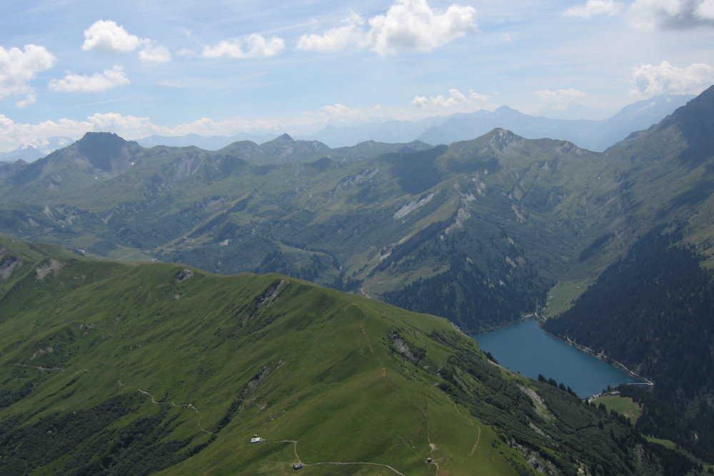 Mont des Acrays, lac St Guerin
