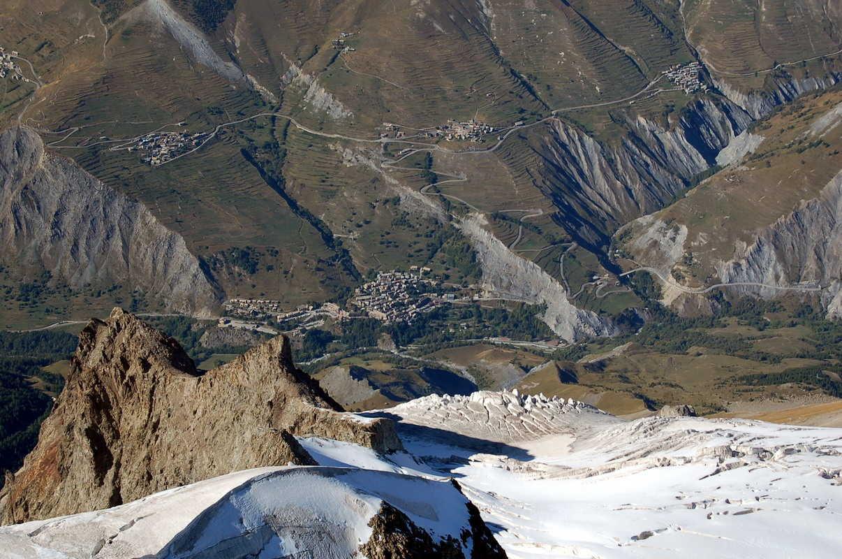 glacier du Tabuchet, la Grave