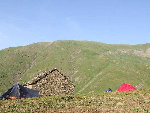 Estive au pied de la Sierra de Tendenera