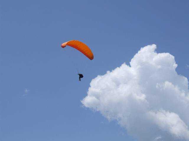 En vol au dessus de Castejon de Sos