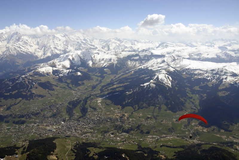 Serge et le Mt Blanc