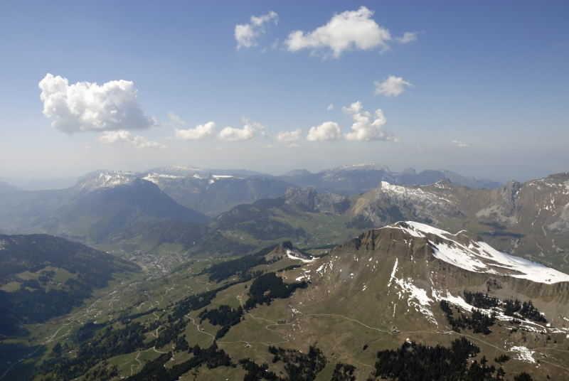 Transition sur le Mt Lachat du Chatillon