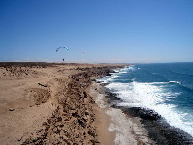 Les dunes à Tifnit