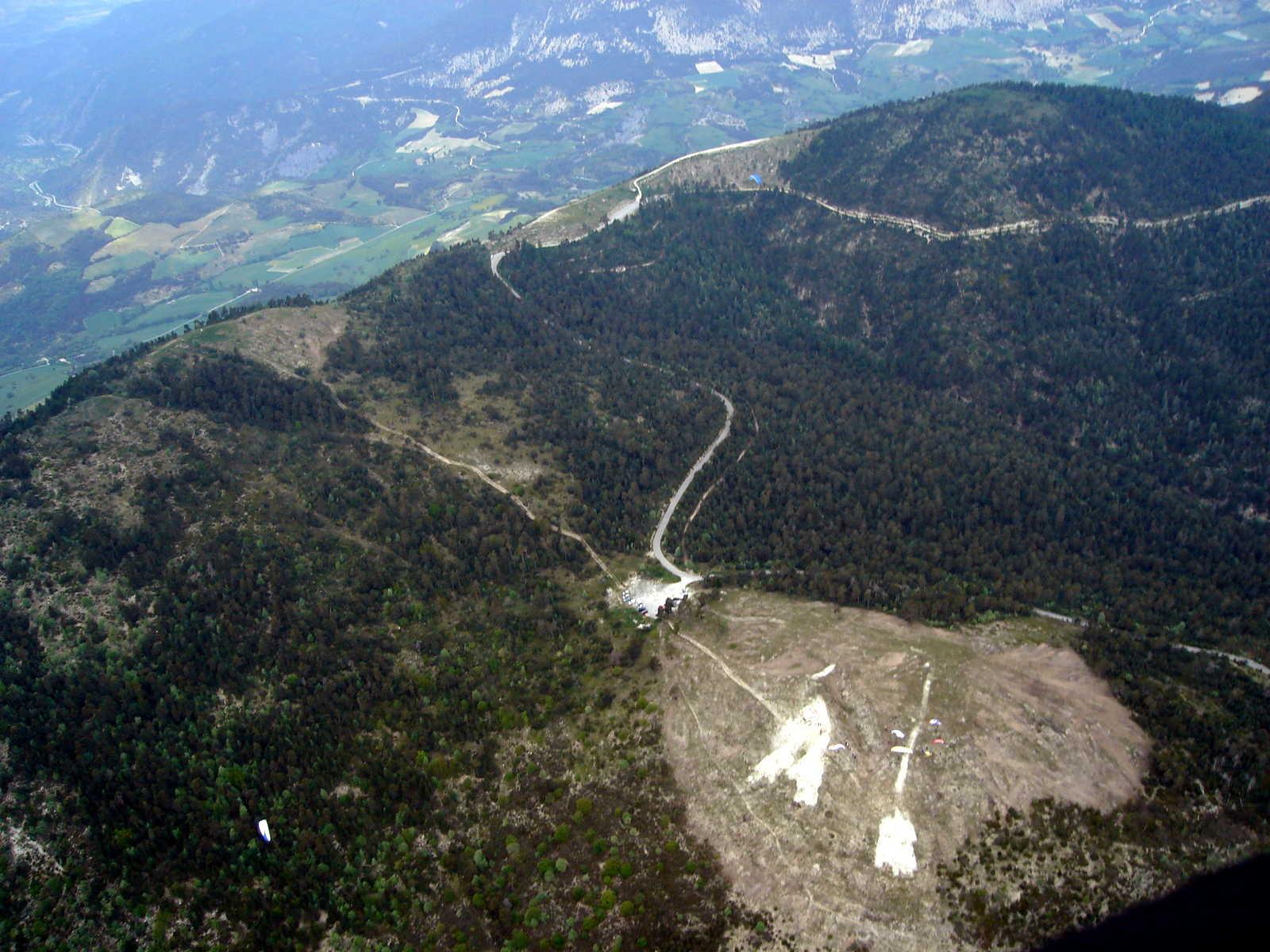 Décollage de Saint André les Alpes