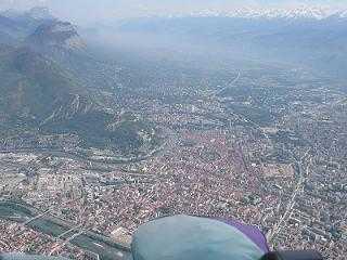 Survol de Grenoble