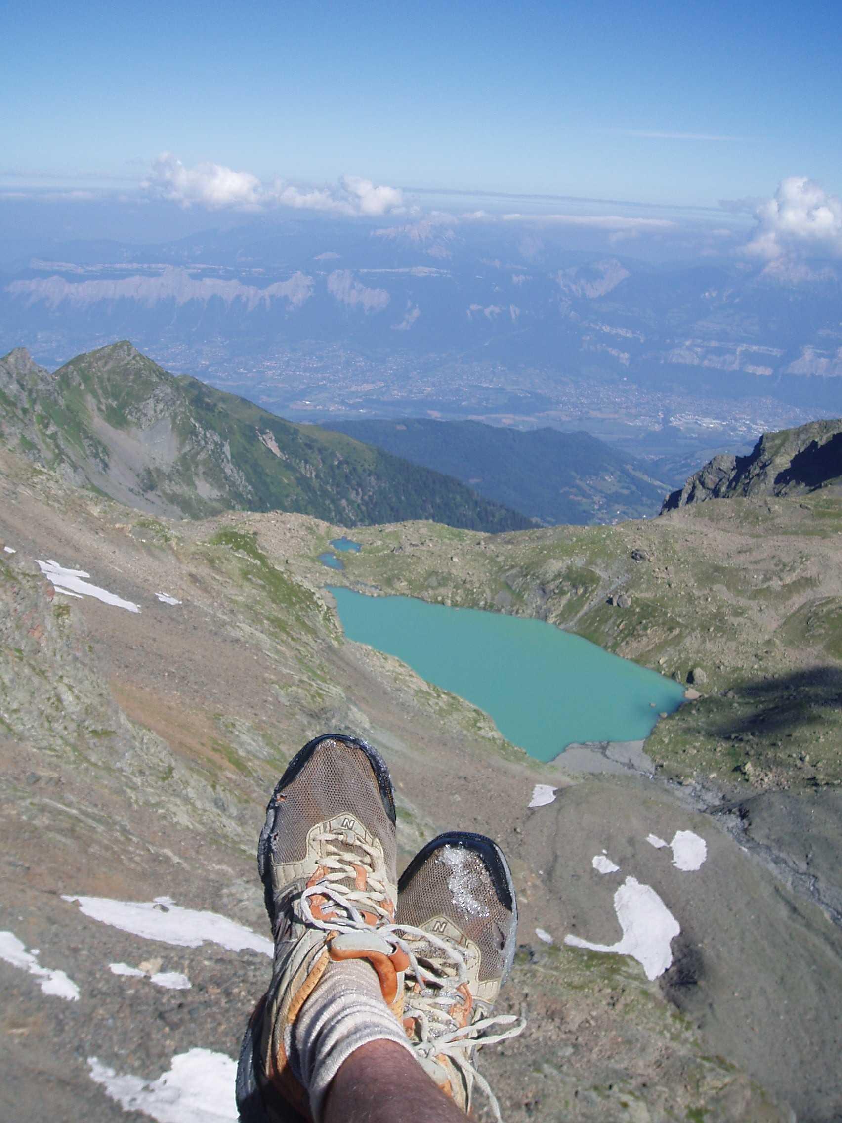 Lac blanc en vue