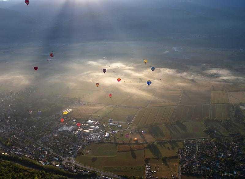 Vol avec les Montgolfières - Seb