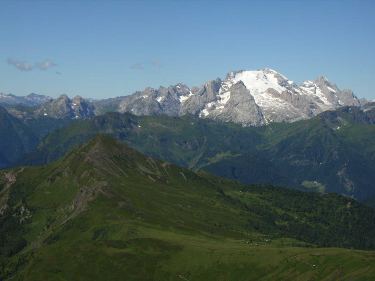 La Marmolada (3343m) - Face nord