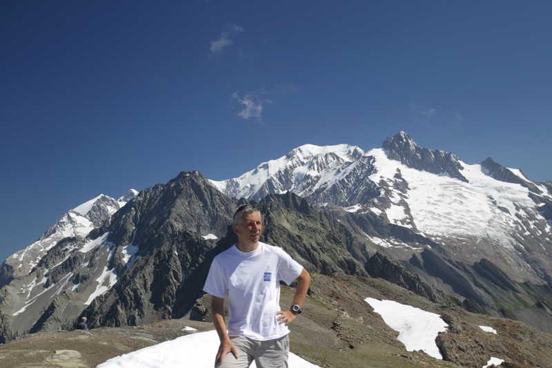 Antoine au sommet