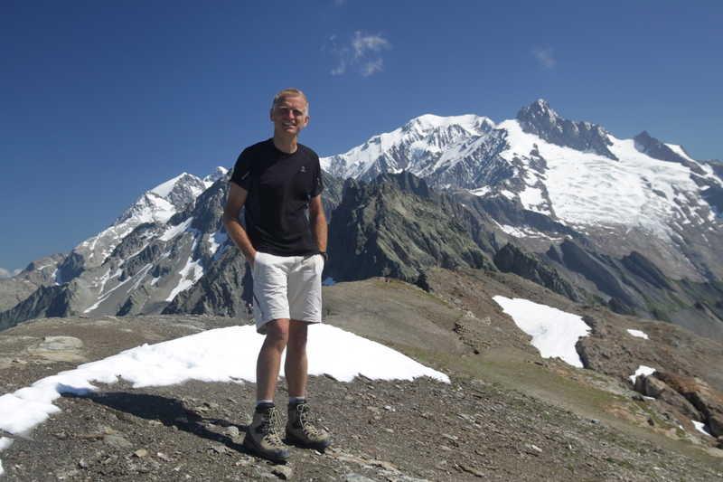 Pierre-Alexis au sommet