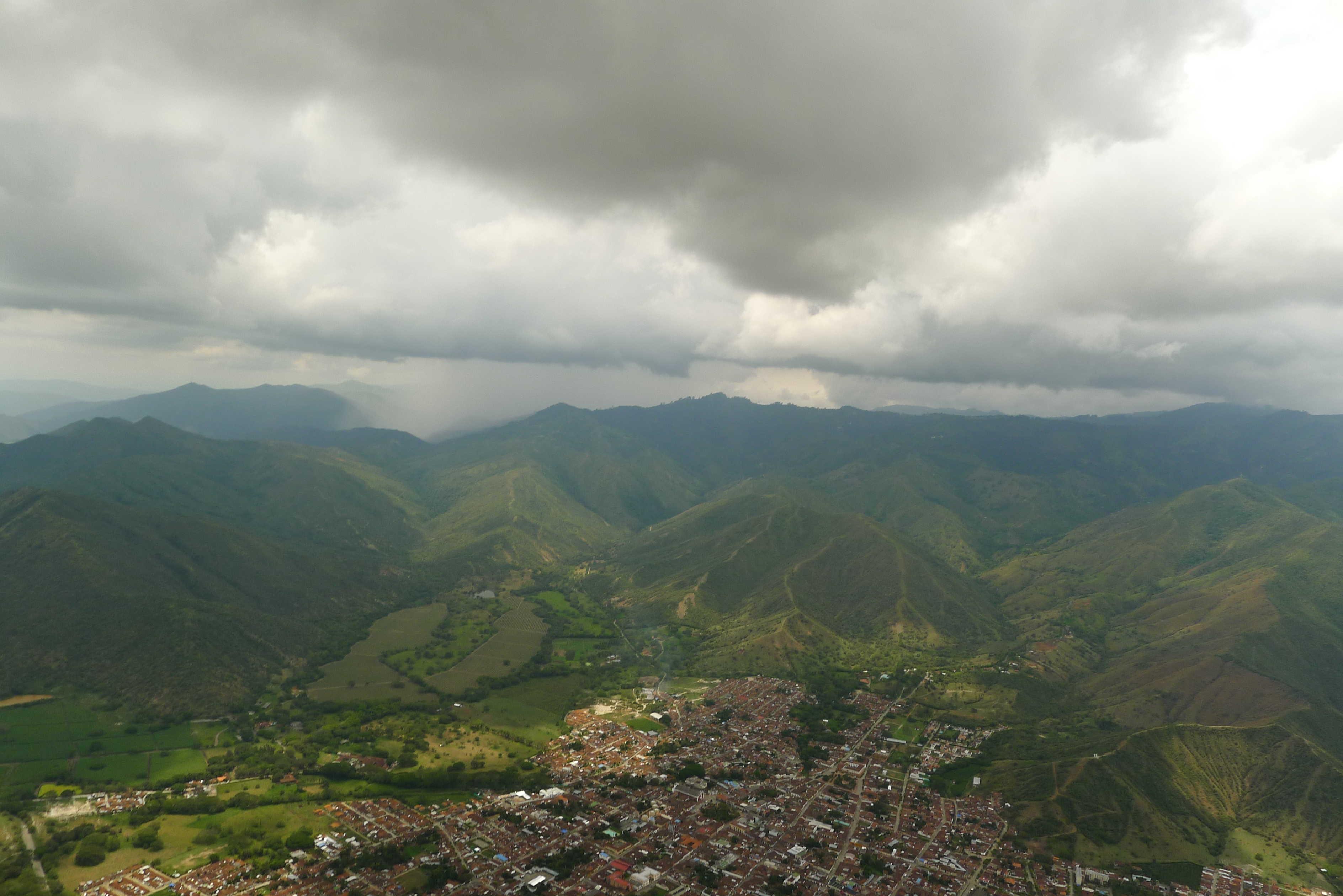 Roldanillo, au pied des montagnes