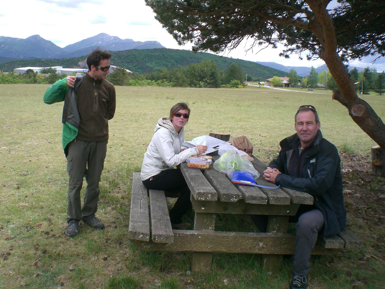 Et le picnic avant la pluie