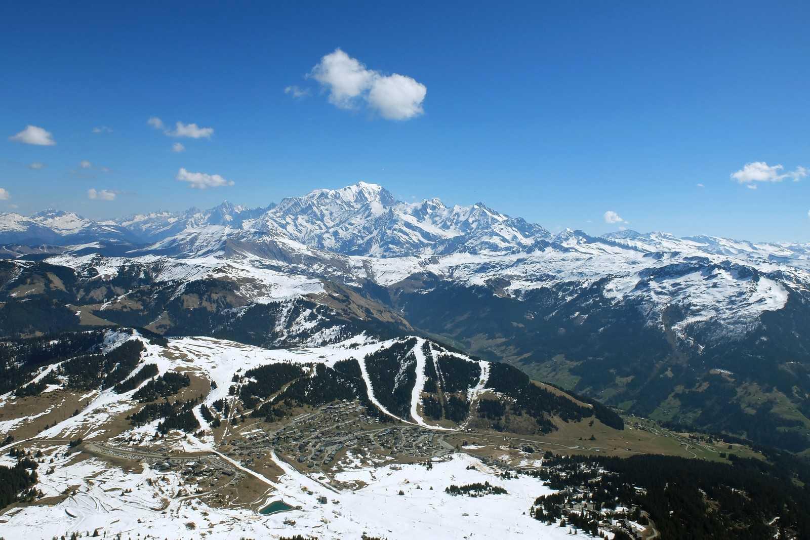 Décollage de Bisanne : en route pour le Mont Blanc !