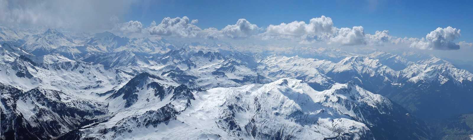 Encore beaucoup de neige dans le Beaufortain