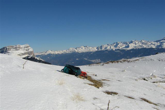 Brêche hivernale et premiers thermiques