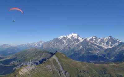 Petit tour du CHVD vers le Mont Blanc