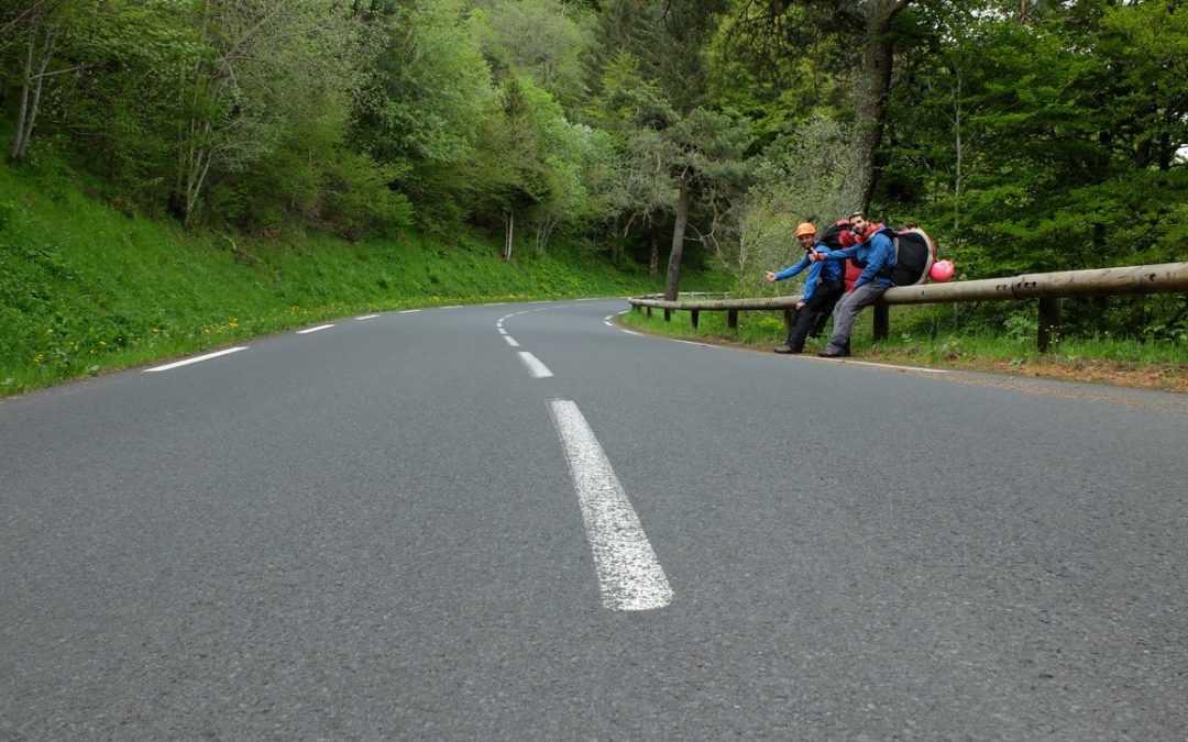 Marche, (vole) et roule en Auvergne !