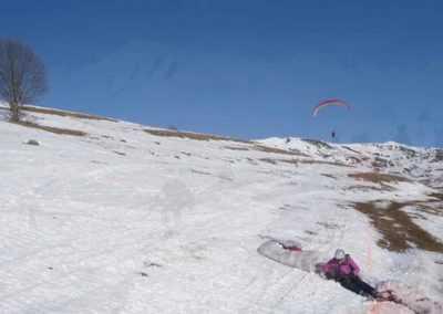 vol et ski 2011 aux sybelles
