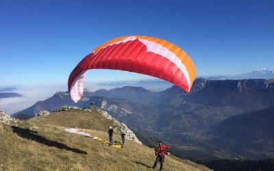 Grand Som au départ du Col du Cucheron