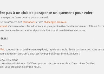 Comment adhérer au club ?