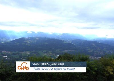 Stage Cross juillet 2020