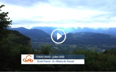 Stage Cross CHVD – Juillet 2020 – Le film