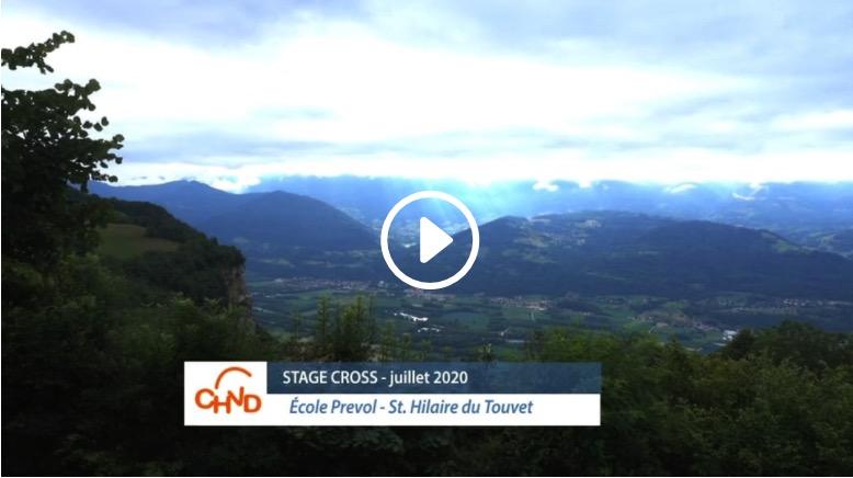 Stage Cross CHVD – Juillet 2020 – Le film