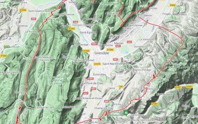 110 km en triangle FAI entre Chartreuse Vercors et Belledonne