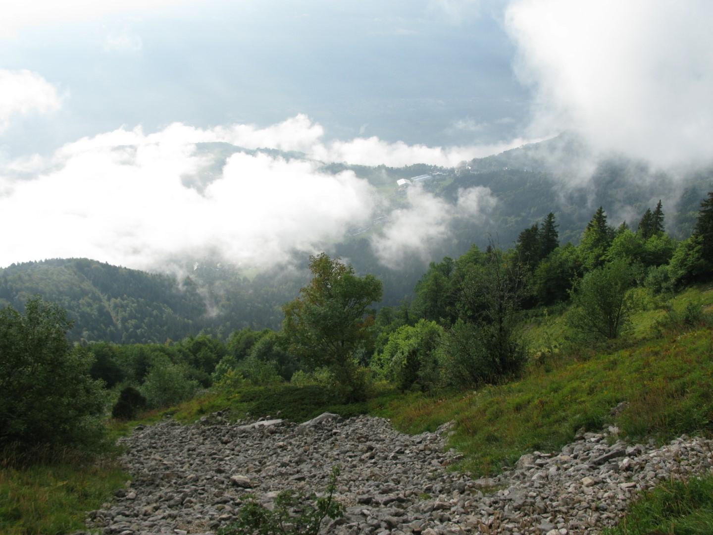Encore pas mal de brume sur Saint Hilaire