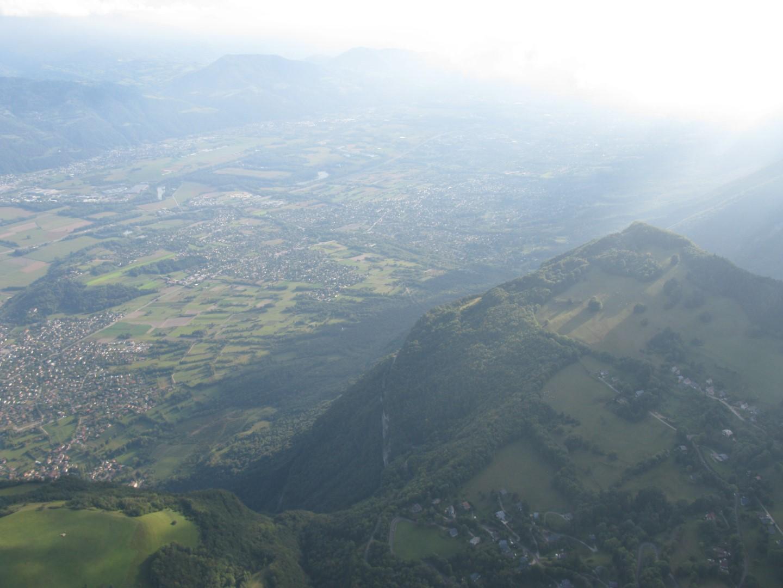 En vol en direction de St Nazaire