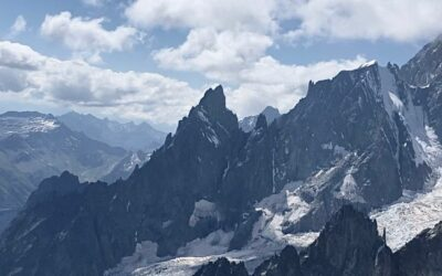 José a fait le tour du Mont Blanc.